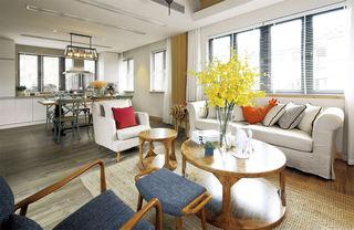 文艺个性混搭创意设计小户型两居室装修图片