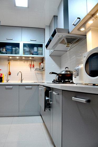 最新简约现代厨房装修图