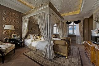 6平米美式豪华卧室装修效果图