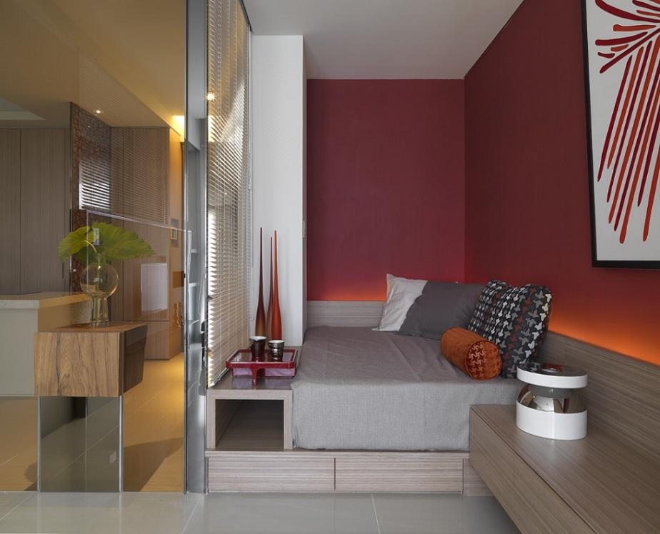 时尚个性简约家装小卧室设计