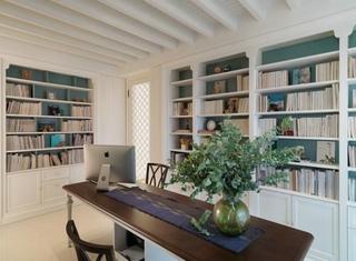 法式田园家装书房装修效果图