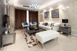 精致新古典客厅家装案例图