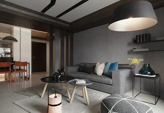 简约设计小户型公寓装修图