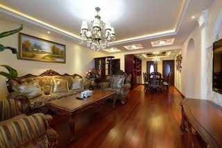 奢华古典欧式实木三居设计图