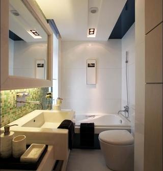 个性创意现代简约混搭卫生间装修大全