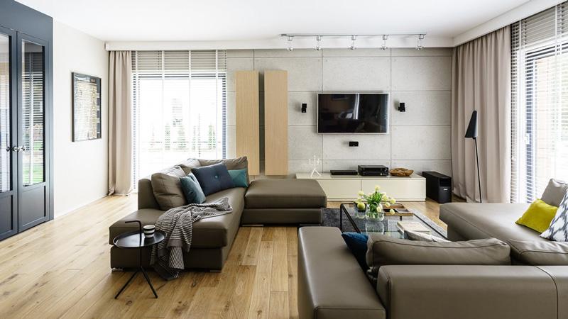 简约风格公寓室内装潢图