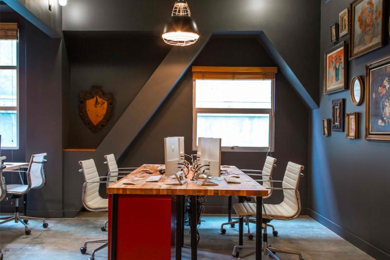 家装餐厅混搭工业风设计