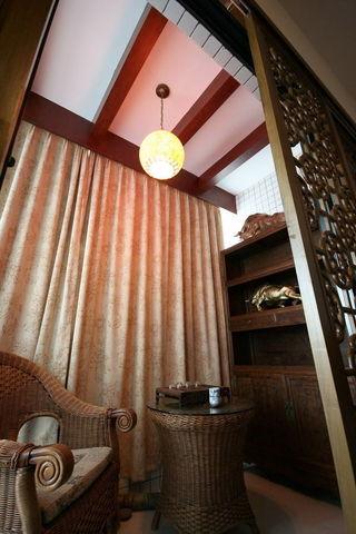 温馨雅致中式二居装饰设计