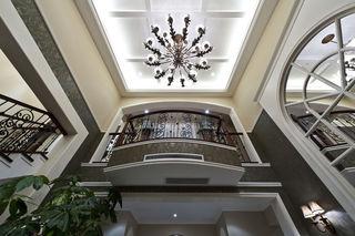 地中海装饰风格别墅室内吊顶效果图