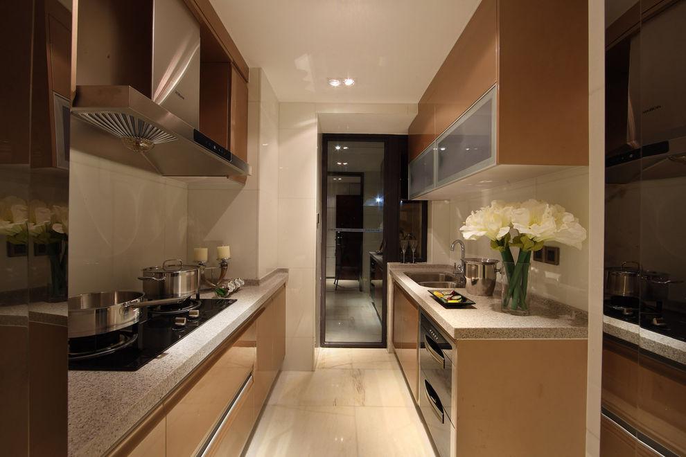 温馨现代家居厨房效果图欣赏