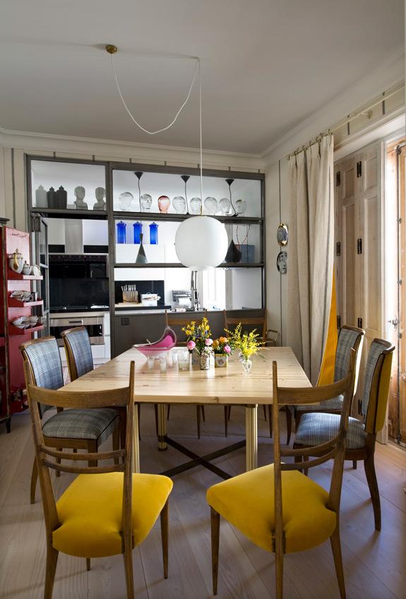 宜家北欧风情原木餐厅设计