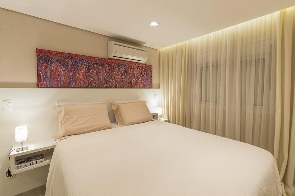 现代圣保罗风格卧室图
