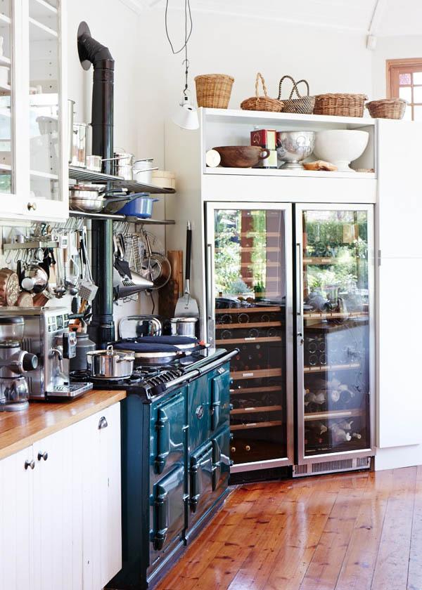 简欧工业风格小公寓厨房厨具设计