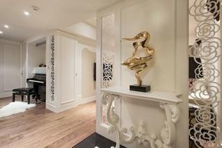 装修效果图 家居美图 北欧风格客厅复式吊顶奢华过道玄关装修图片图片