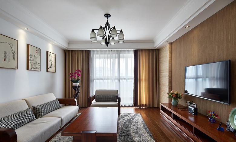 清新简美式客厅装饰大全