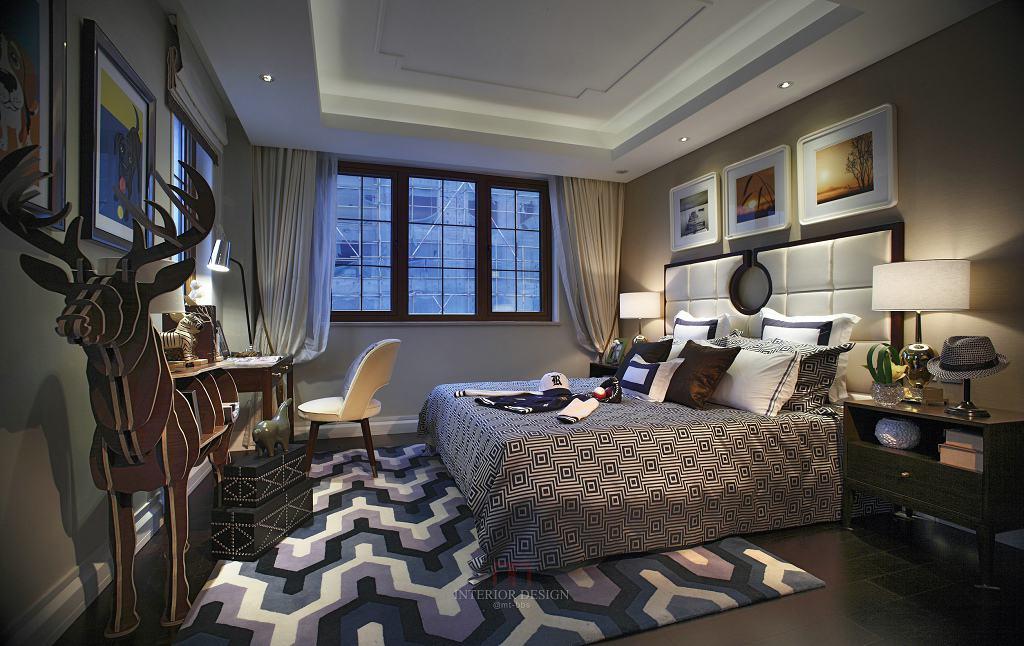 精致摩登美式卧室装饰大全欣赏