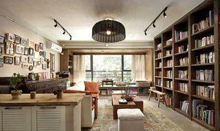 清新原木自然风中式公寓混搭设计