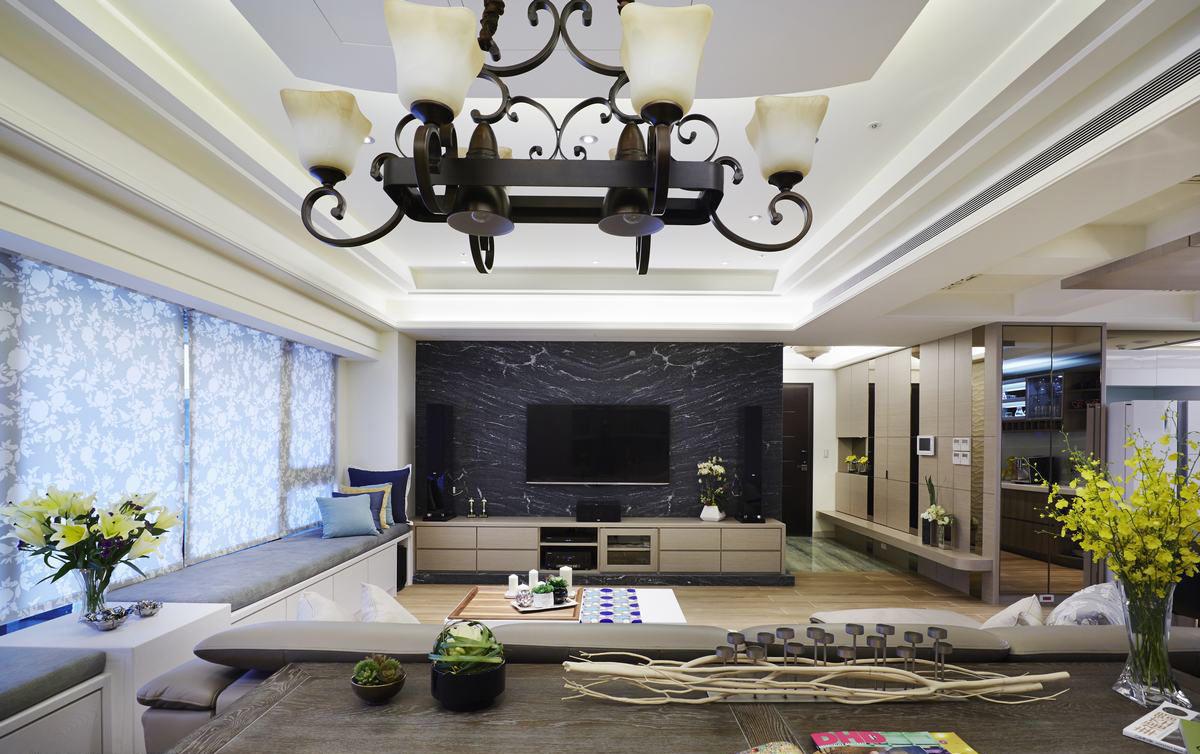 家装客厅现代风格装修图