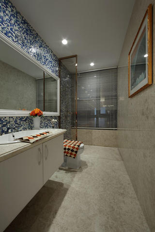 清新复古美式卫生间装修大全
