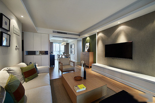 98平清新森系宜家风格三居两厅装饰设计欣赏
