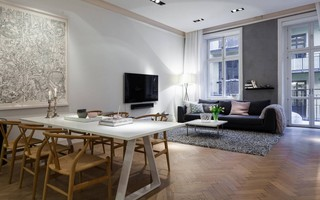 清新宜家北欧风格公寓装饰设计
