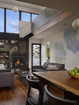 个性创意现代工业风格别墅设计效果图