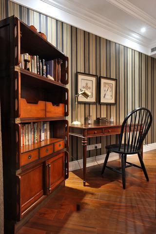 家装书房美式家具装饰