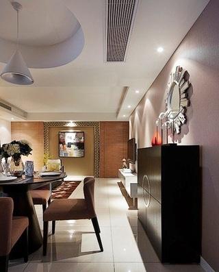 118平时尚奢华精美新古典三室美宅设计
