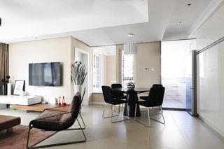 简洁现代风格三居室装修设计