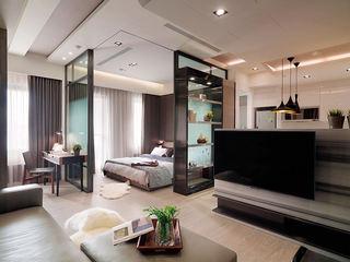 时尚黑白现代风一居小公寓设计