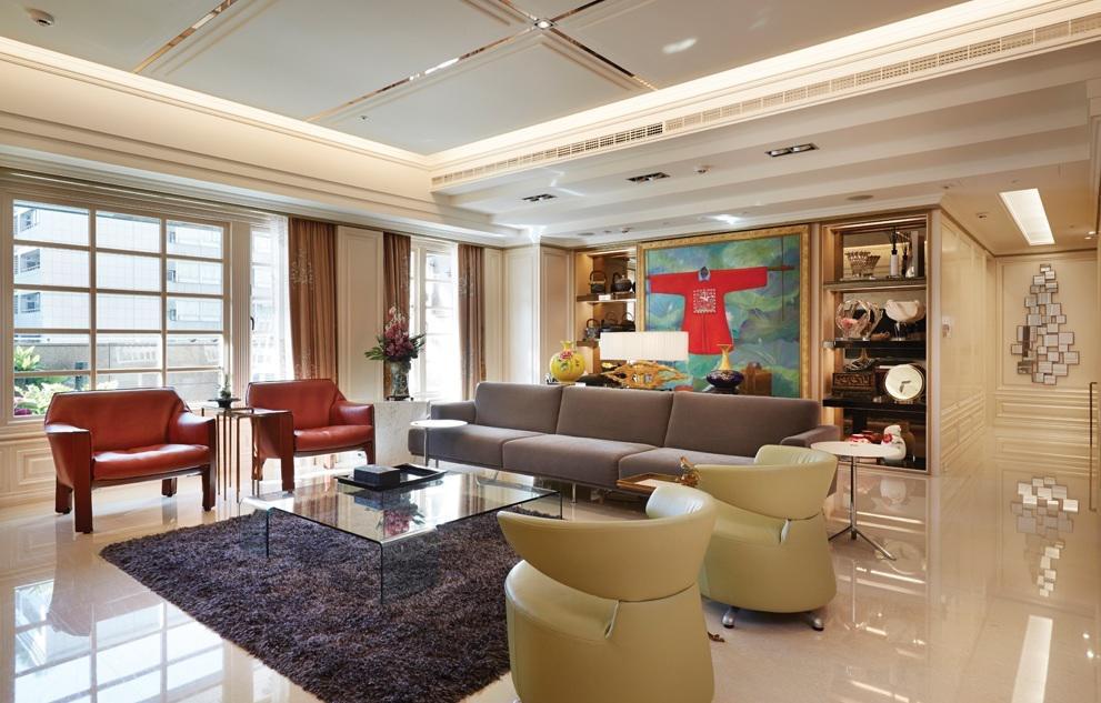 新古典主义风格大三居设计装修图