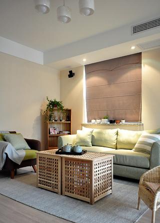 精致日式小资情调公寓装饰设计