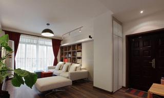 舒适温馨现代小户型一居室装修设计图