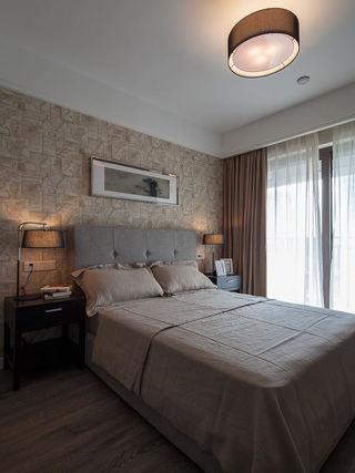 素雅现代卧室装潢效果图