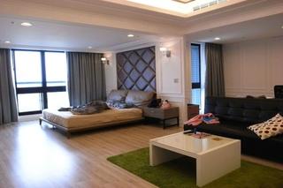 新古典风格三室两厅装修设计图