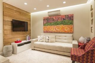 现代圣保罗风格 小户型公寓装修图