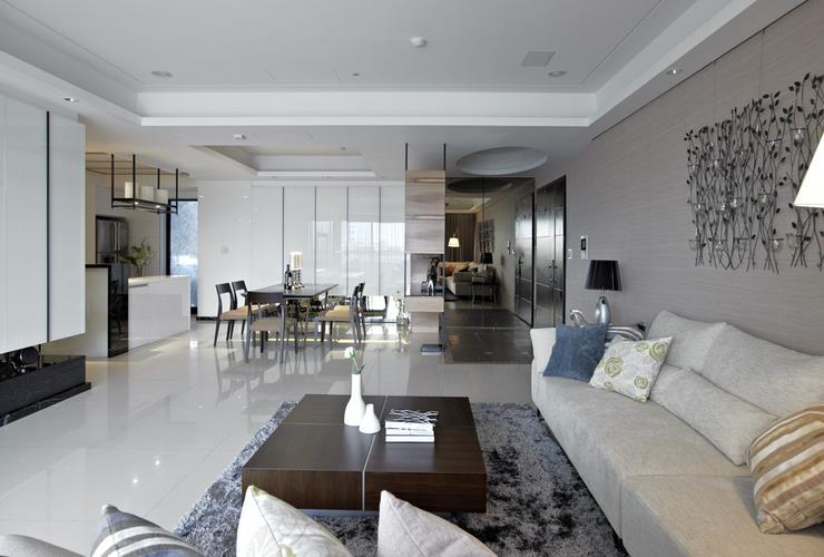 美式风格公寓室内装修设计