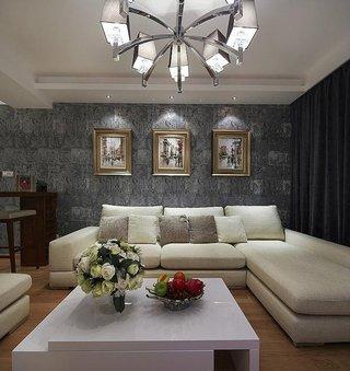 家装客厅现代风格装修效果图