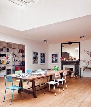 多彩甜美宜家北欧风情公寓装饰效果图