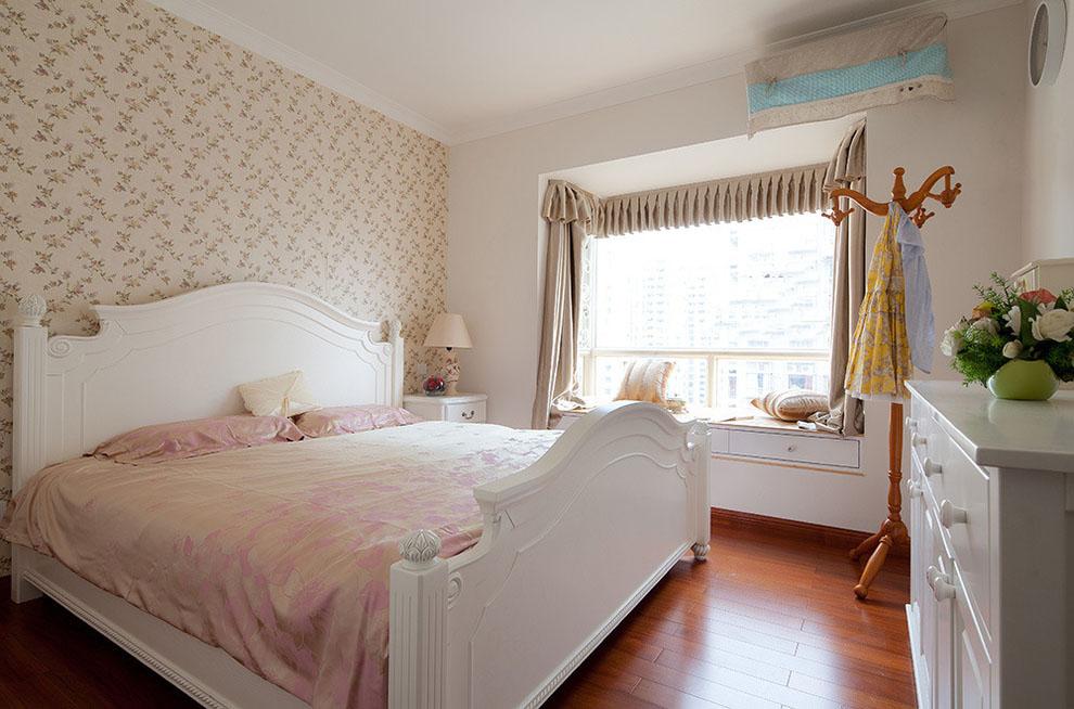 欧式田园风卧室装修欣赏