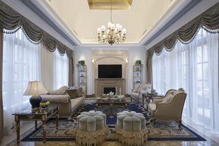 豪华欧式别墅客厅装饰欣赏