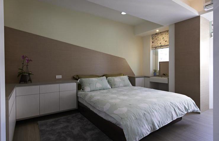 简约现代装修卧室设计效果图