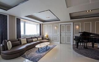 118平时尚甜美简约美式三室两厅装潢设计