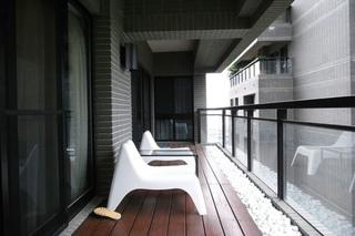 新古典设计阳台效果图