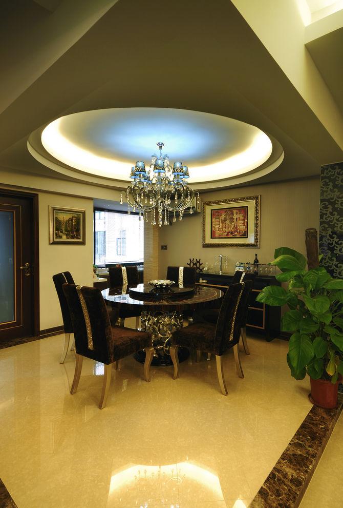 奢华精美简欧新古典风格餐厅装饰大全装修