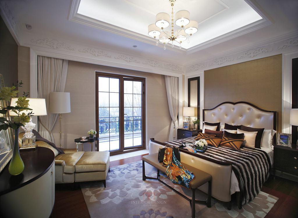 精致美式后现代卧室装饰大全欣赏