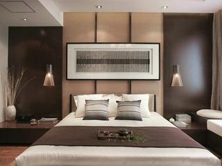 138平简约中式东南亚风情混搭三室两厅装潢设计