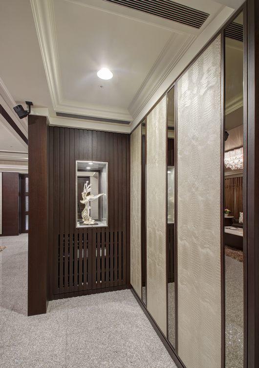 欧式家装玄关设计装修图