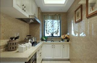家装厨房优雅浪漫欧式风格装修设计图