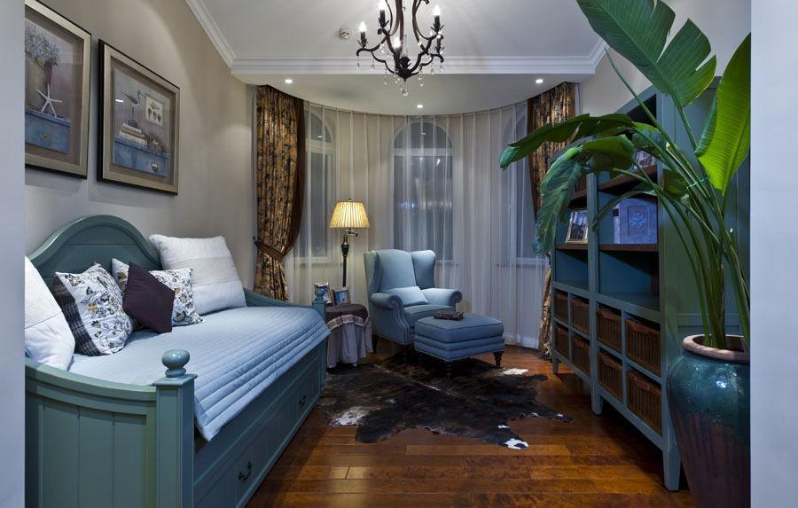 自然清新地中海风格家居室内装饰效果图